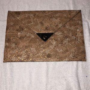 NWT Cork Envelope Purse/Clutch